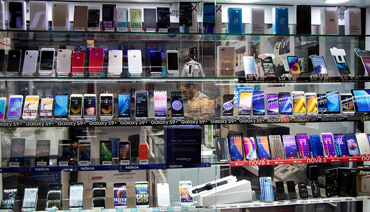 گوشیهای ۵ میلیون تومانی در  بازار + جدول