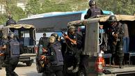 حمله مسلحانه|   یک خودروی مسافربری در پاکستان  به رگبار بسته شد