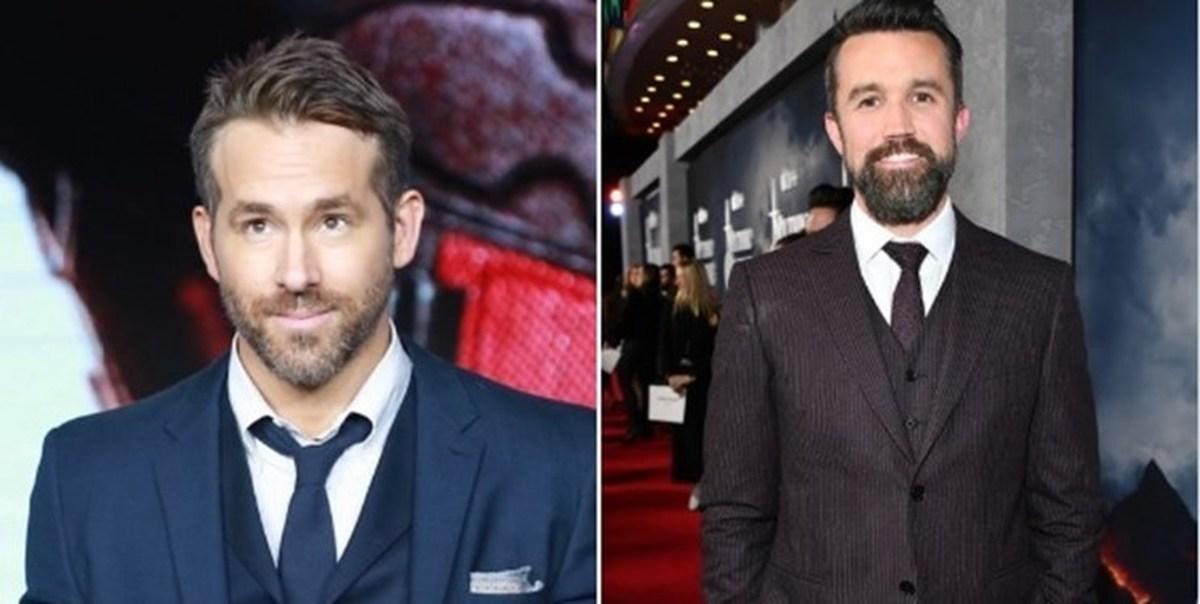 فوتبال  |  دو هنرپیشه هالیوود امتیاز باشگاه رکسهام انگلیس را خریداری کردند.