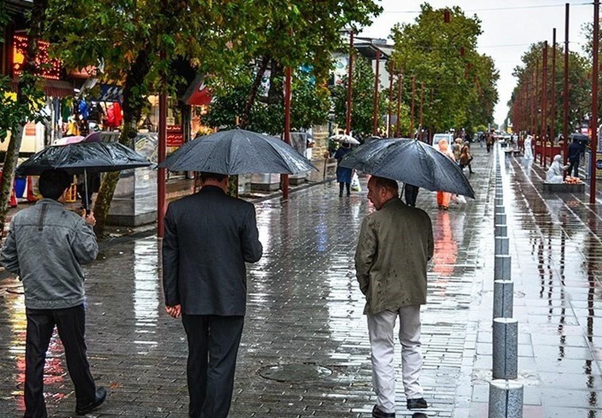 شروع دوباره بارندگیها در ایران   هوا خنک میشود؟