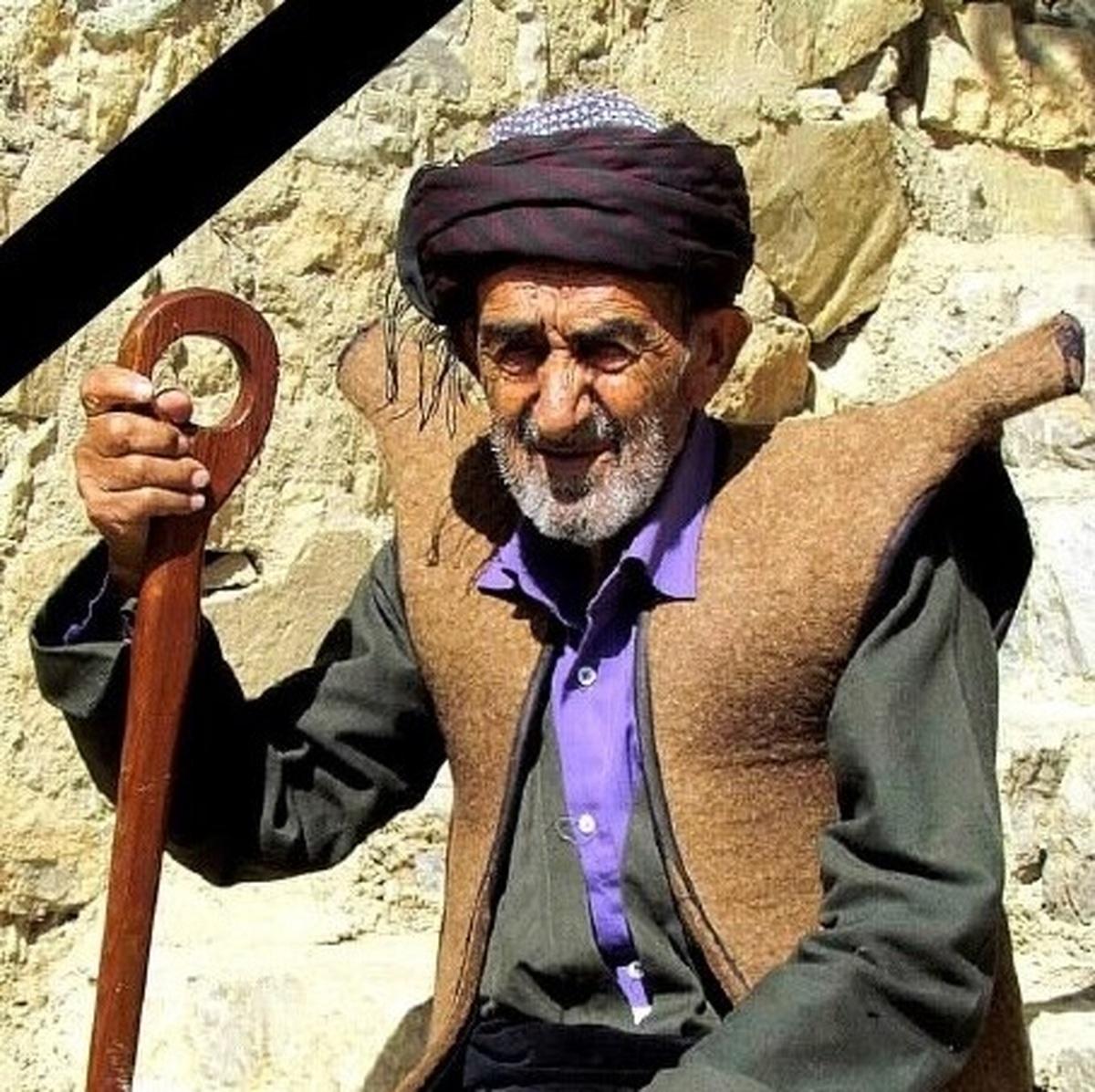 عارف غلامی، اولین گنجینه زنده بشری حوزه شالبافی کردستان درگذشت