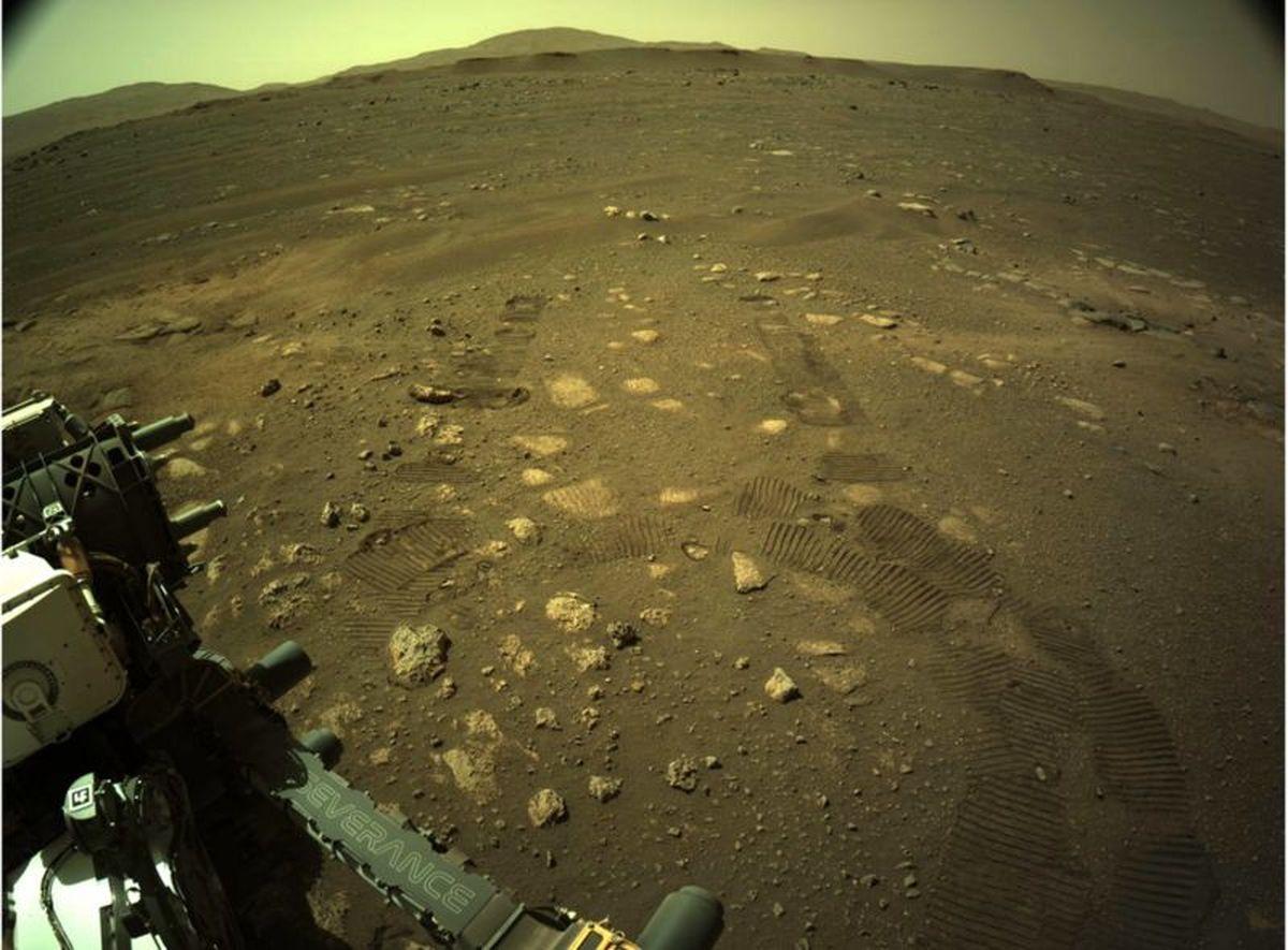 برای اولین بار مریخنورد جدید ناسا به حرکت درآمد