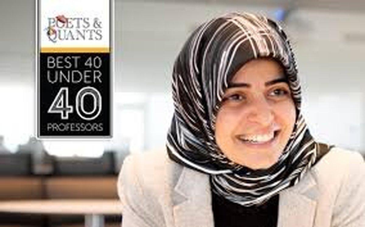 مریم کوچکینژاد در جمع ۴۰ استاد برتر جوان دنیا قرار گرفت