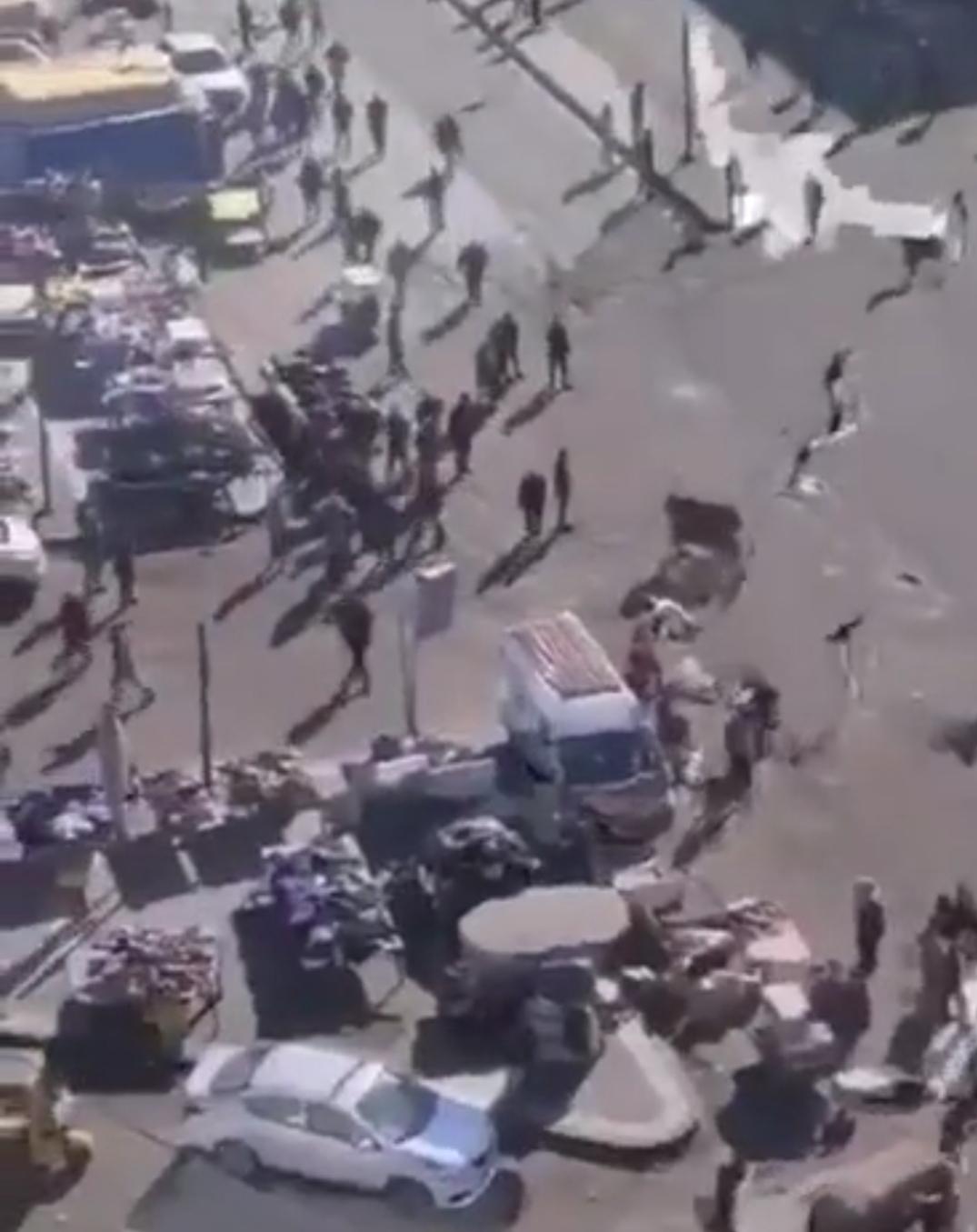 لحظه وحشتناک انفجار انتحاری در بغداد + ویدئو