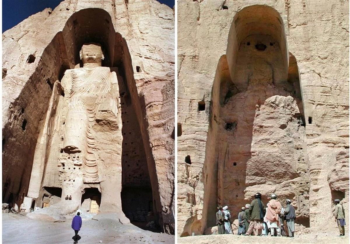طالبان خطاب به اعضای این گروه       از تخریب آثار باستانی جلوگیری کنید