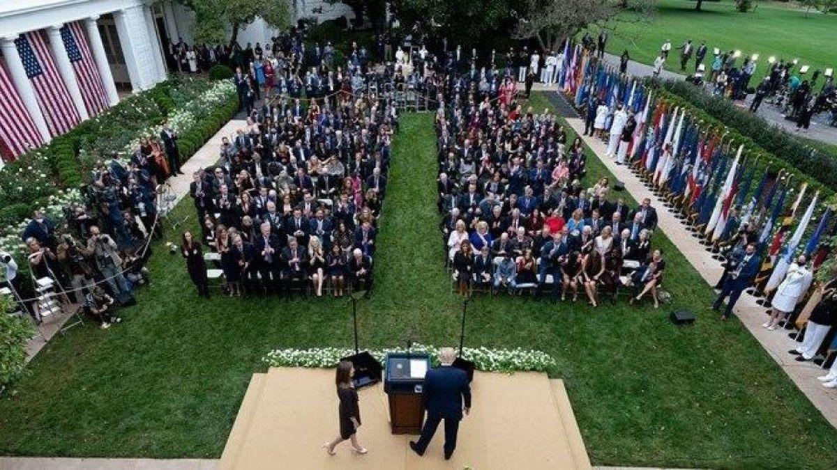 کرونا |  منشا شیوع ویروس کرونا در کاخ سفید چه بود؟