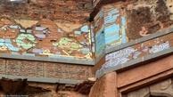 دروازۀ شیران، کتیبههای پارسی آن و کاشیهای ایرانی در دژ بیدر هند