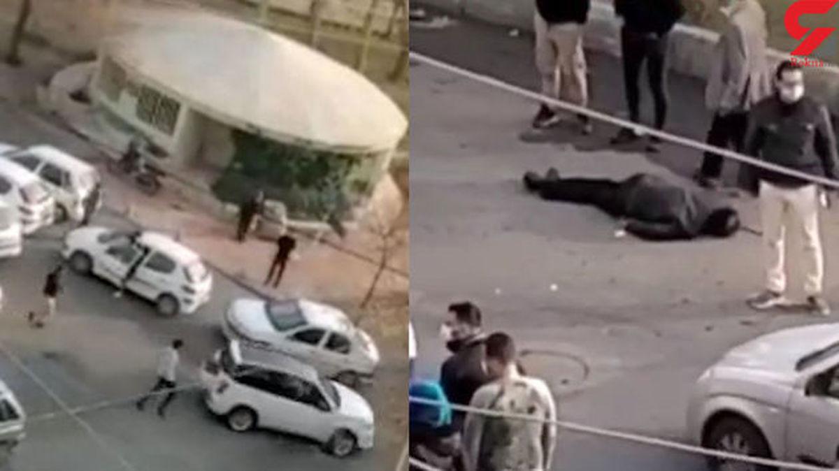 فرار راننده بعد از زیرگرفتن و تصادف با خودروها در کرج + فیلم