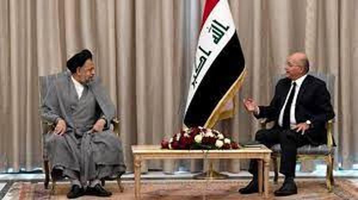 دیدار وزیر اطلاعات ایران با رئیسجمهور عراق +جزئیات