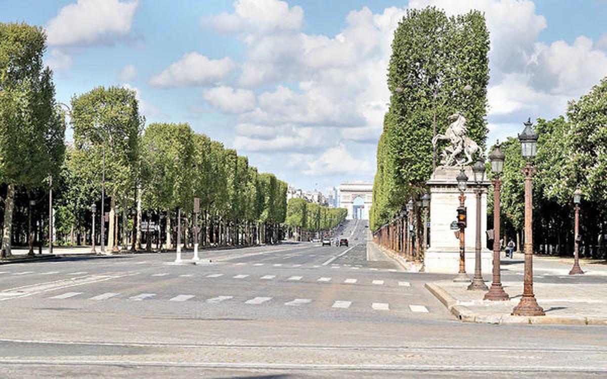 پاریس از دست رفته   کرونا کشور عاشقانهها را به گورستان تبدیل کرده است