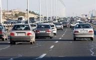 وجود ترافیک نیمه سنگین و سنگین در مسیرهای ورودی تهران