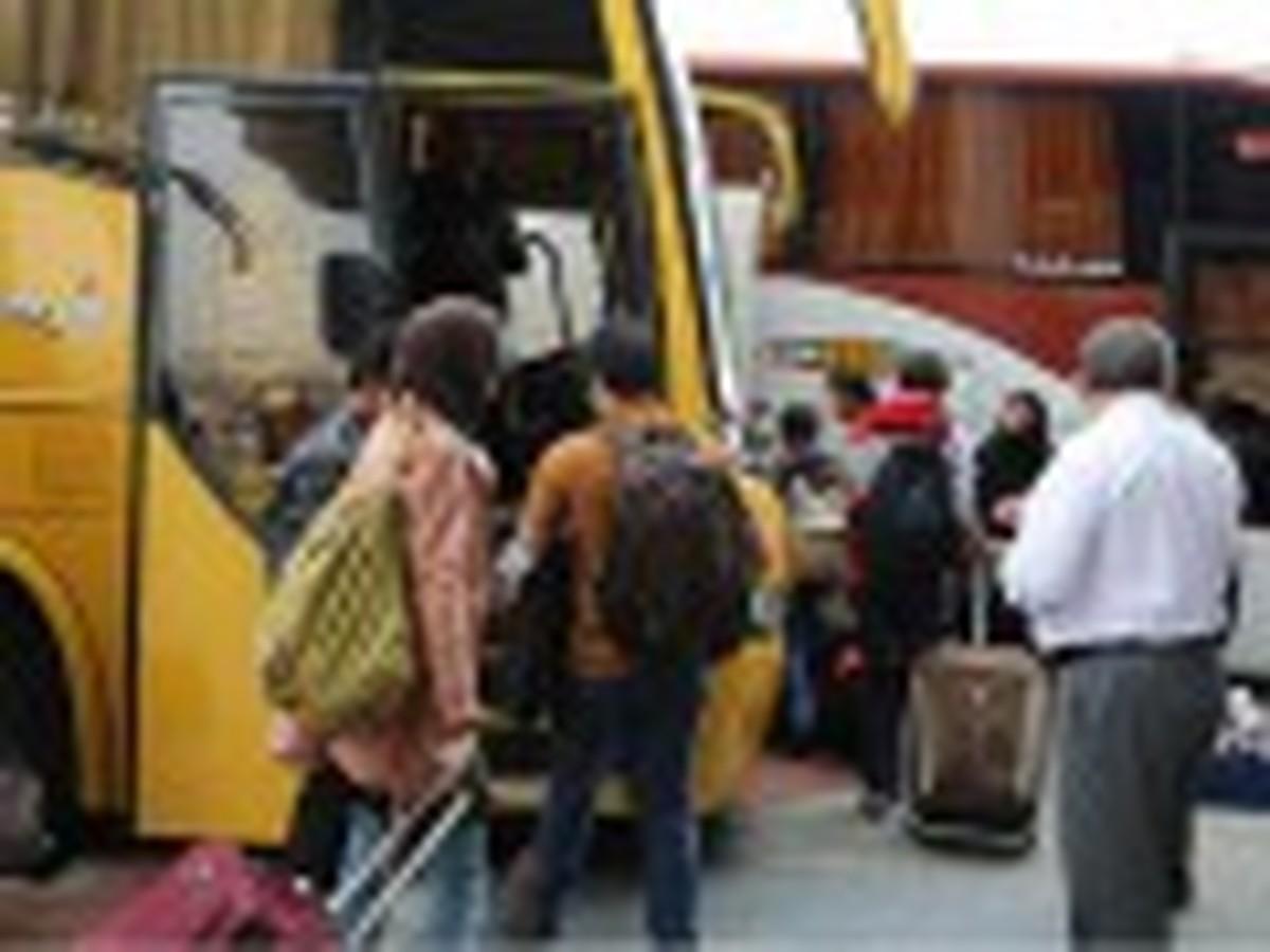 سفر  ریزش سفرهای اتوبوسی در تهران