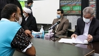 بازدید دادستان تهران به همراه ۱۰۳ قاضی از زندان رجایی شهر