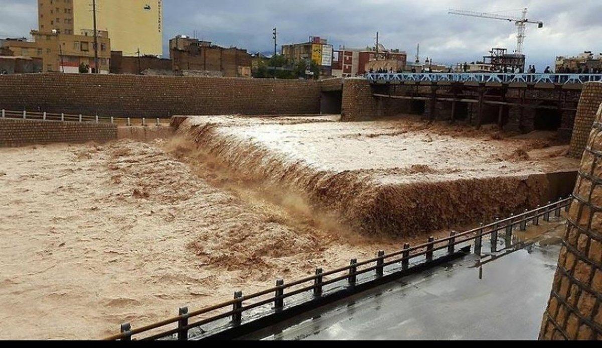 بارندگی های سیل آسا در هشت استان کشور