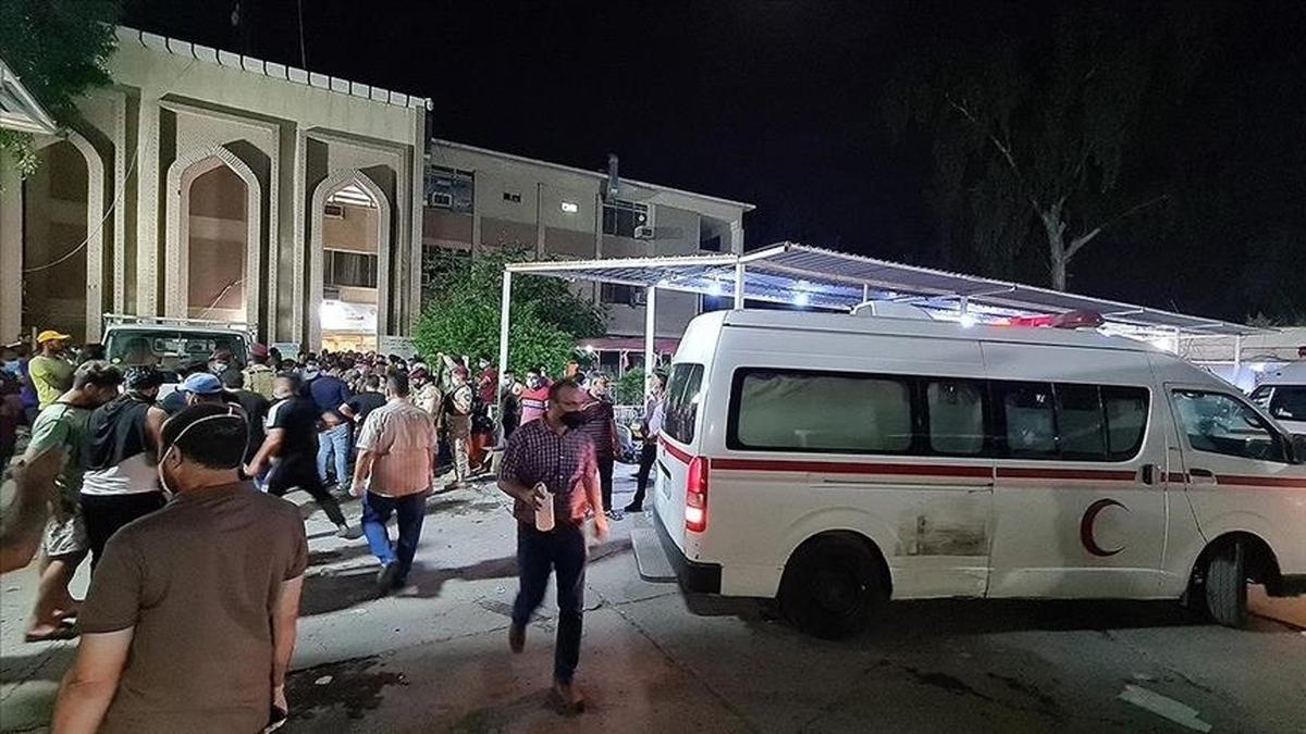 دومین آتش سوزی در بیمارستان کرونایی در بغداد