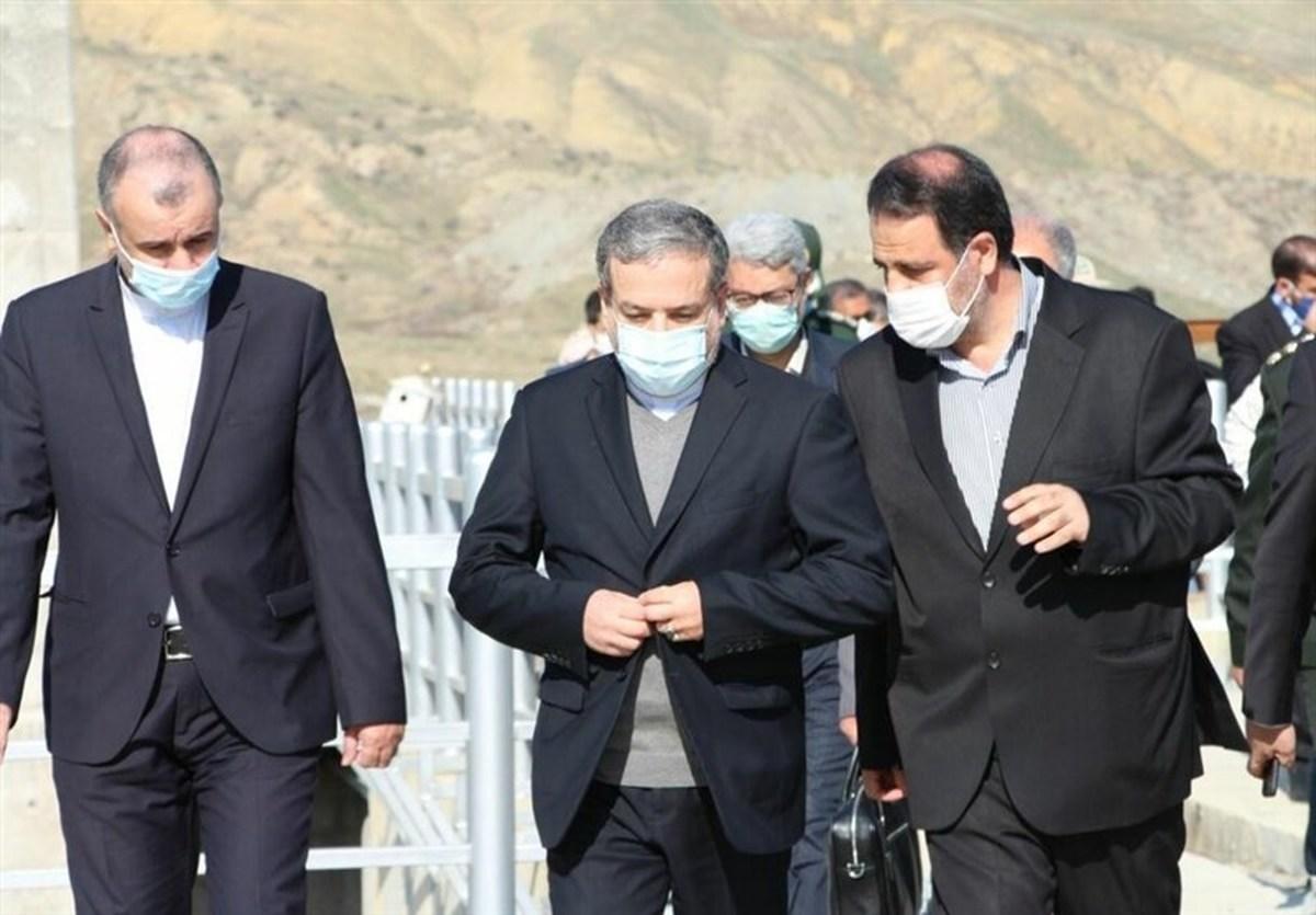عراقچی از مناطق مرزی کشورمان درمنطقه خداآفرین بازدید کرد