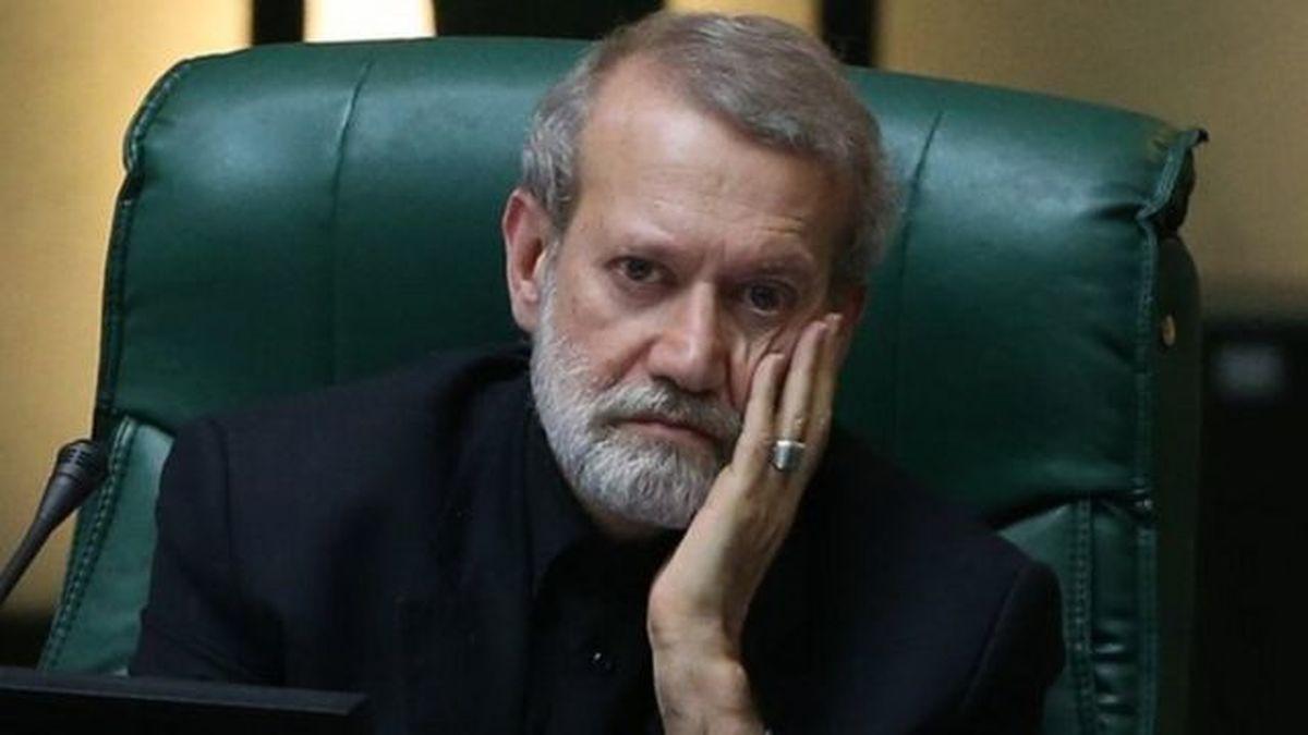 تهمت عجیب به علی لاریجانی