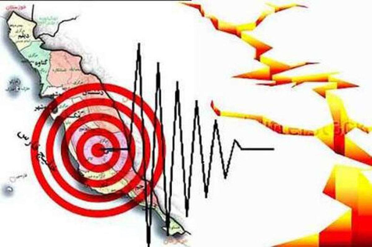 زلزله نسبتا قوی در مرز فارس و بوشهر