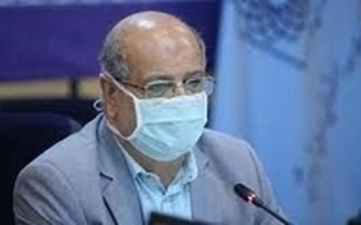 زالی: ۱۱۱ کرونایی در تهران طی روز گذشته فوت کردند