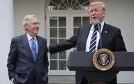 انتقاد ترامپ از رهبر اقلیت جمهوریخواهان سنا   |    او یک پیر فرتوت، عبوس و کسالت آور است