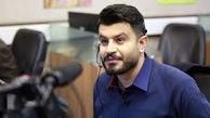 سوتی مجری برنامه طبیب +فیلم