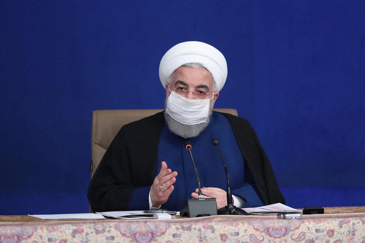 روحانی: در این سه سال هیچ شبی نبوده که با خیال آسوده سر بر بالین بگذارم