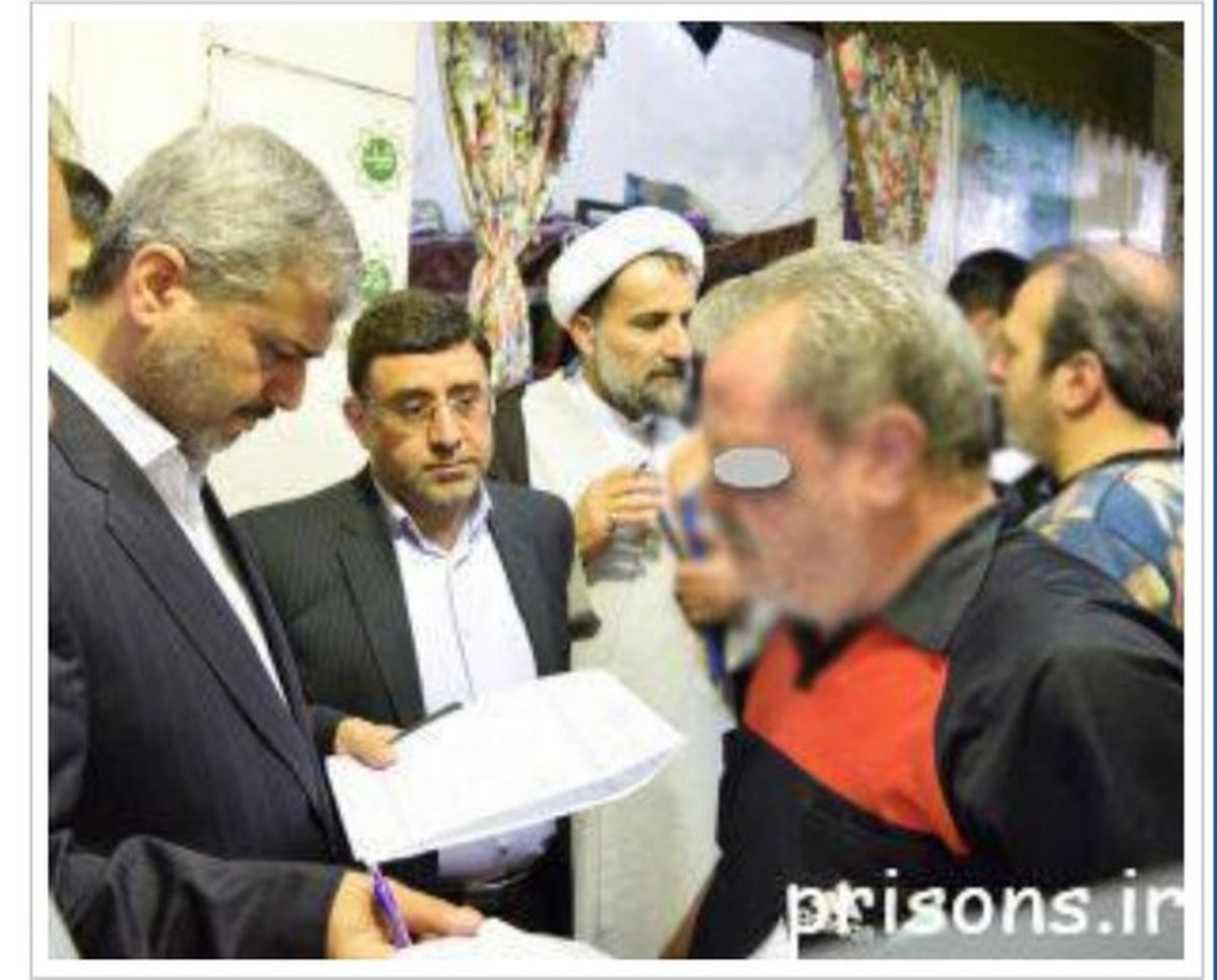 تعدادی از زندانیان ندامتگاه تهران بزرگ مشمول آزادی مشروط شدند