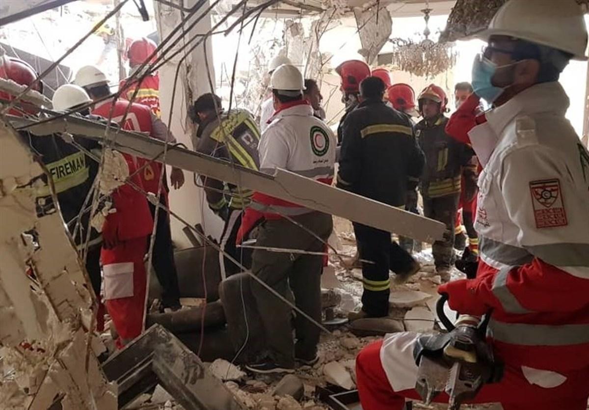 انفجار واحد مسکونی در اهواز / ۱۲ مصدوم حادثه به مرکز درمانی انتقال یافتند
