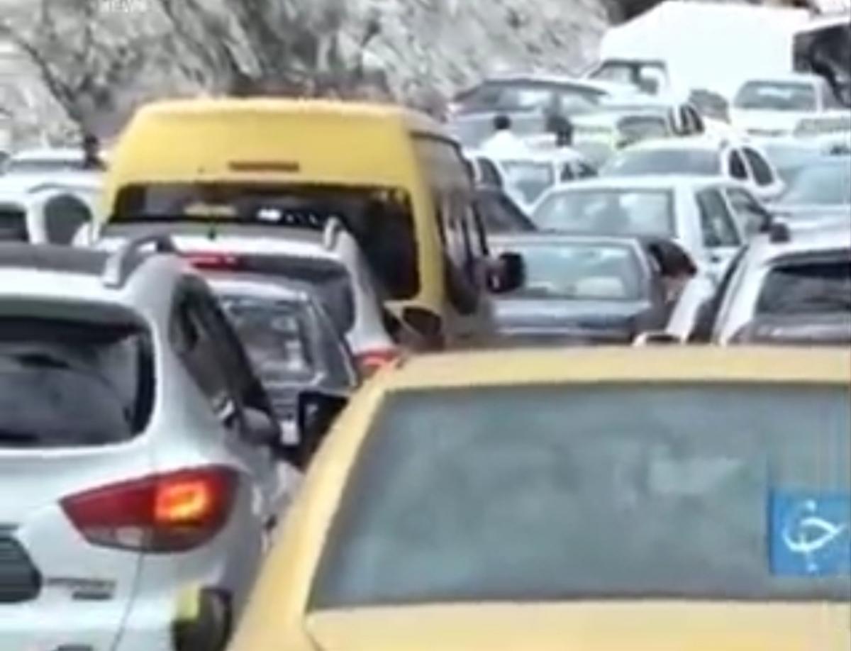 کاسبان جای پارک! + ویدئو