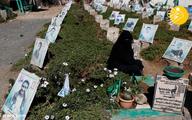 (تصاویر) قبرستان سرسبز یمنیها