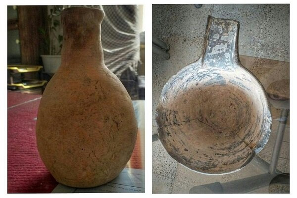 کشف اشیا عتیقه هزار ساله در کلاله