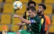 برتری الاتحاد عربستان مقابل ذوبآهن در نیمه اول