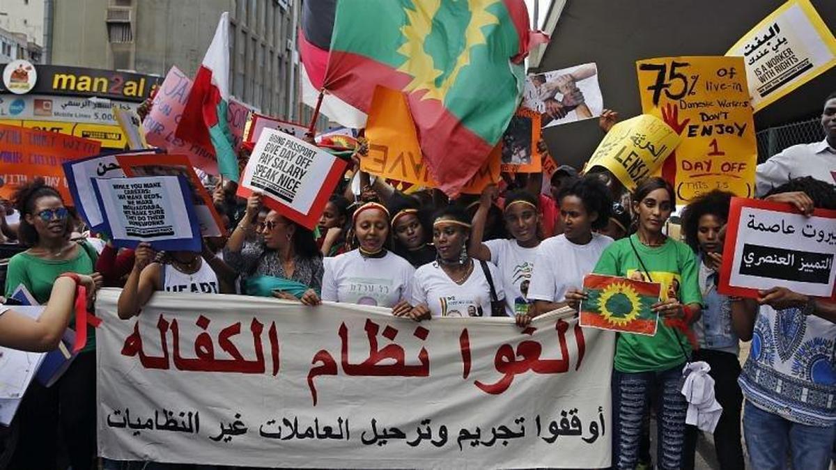 کارگران خارجی که در بحران اقتصادی لبنان  «هیچ حقی ندارند»