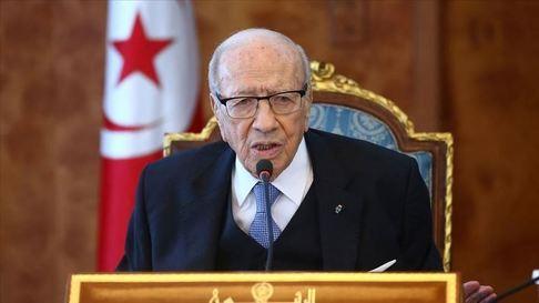 رئیس جمهور 93 ساله تونس درگذشت