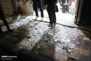 تیراندازی اشرار در خیابان خاتم الانبیاء تهران