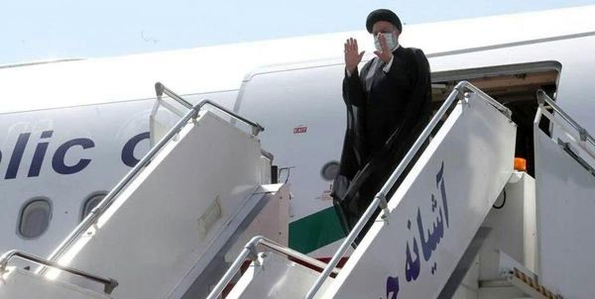 رئیس جمهور واردفرودگاه  شیراز شد