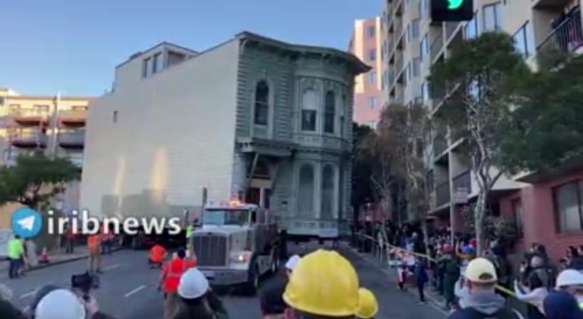 جابجایی  خانه در سانفرانسیسکو امریکا به طور کامل و سالم + ویدئو