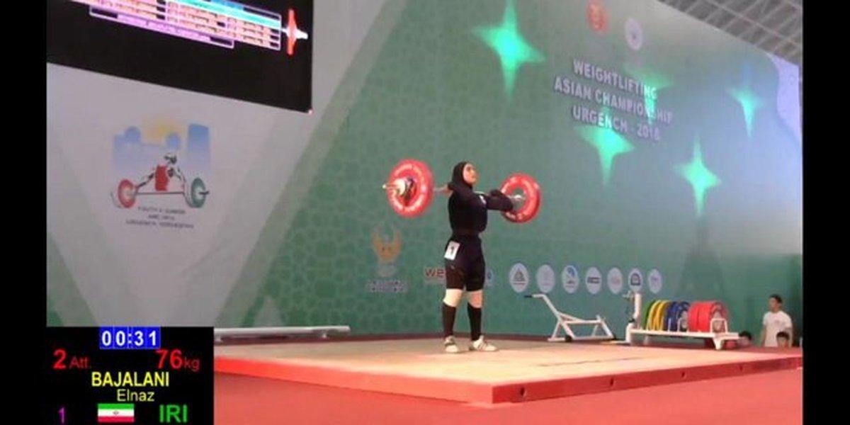 درخشش باجلانی با عنوان پنجمی قهرمانی نوجوانان آسیا