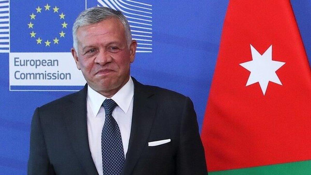 پادشاه اردن از تماسهای دیپلماتیک فشرده برای توقف حملات رژیم صهیونیستی خبر داد