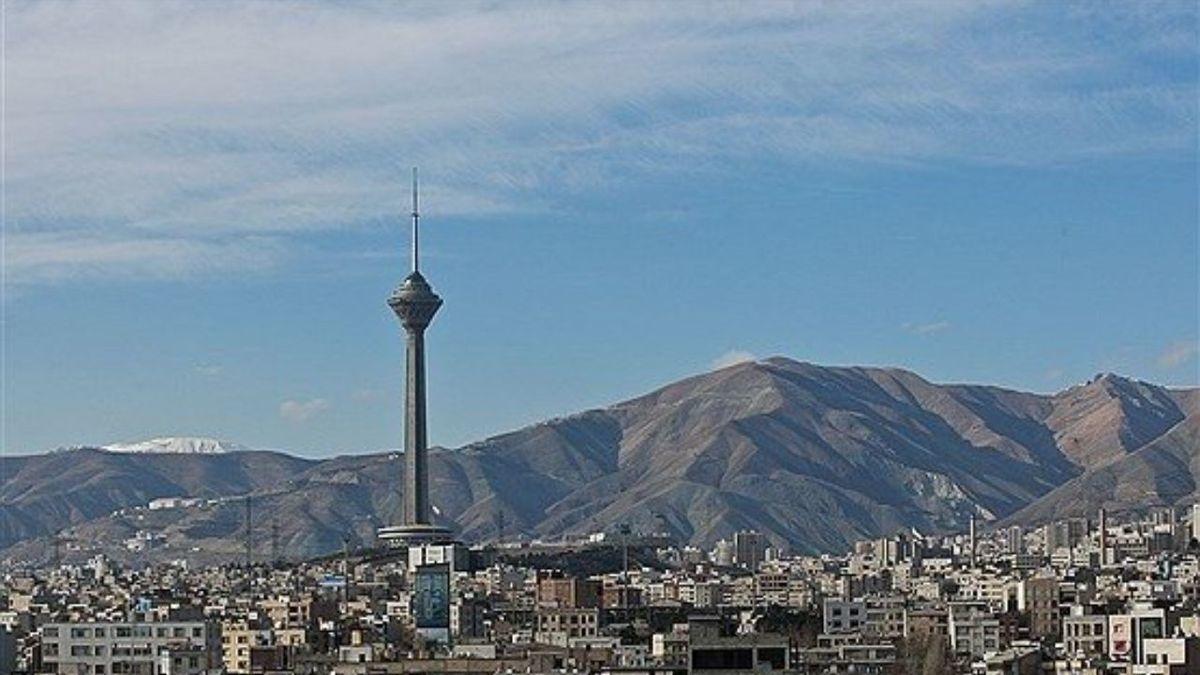 کاهش نسبی دمای تهران