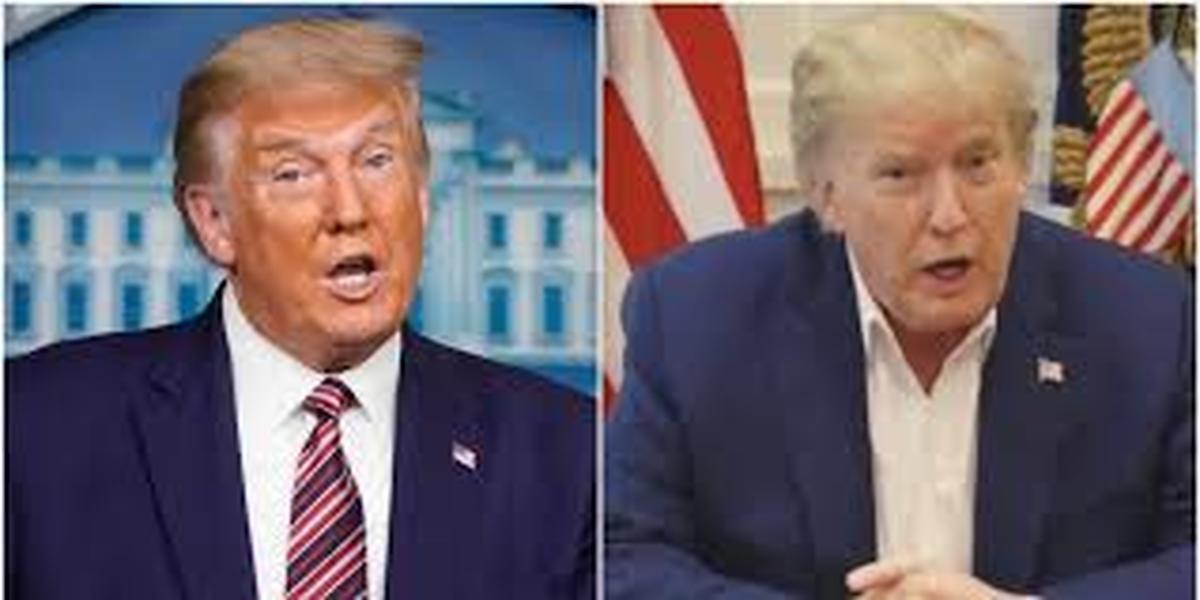 رنگ موی ترامپ بعد از شکست در انتخابات جنجال بزرگی برپا کرد