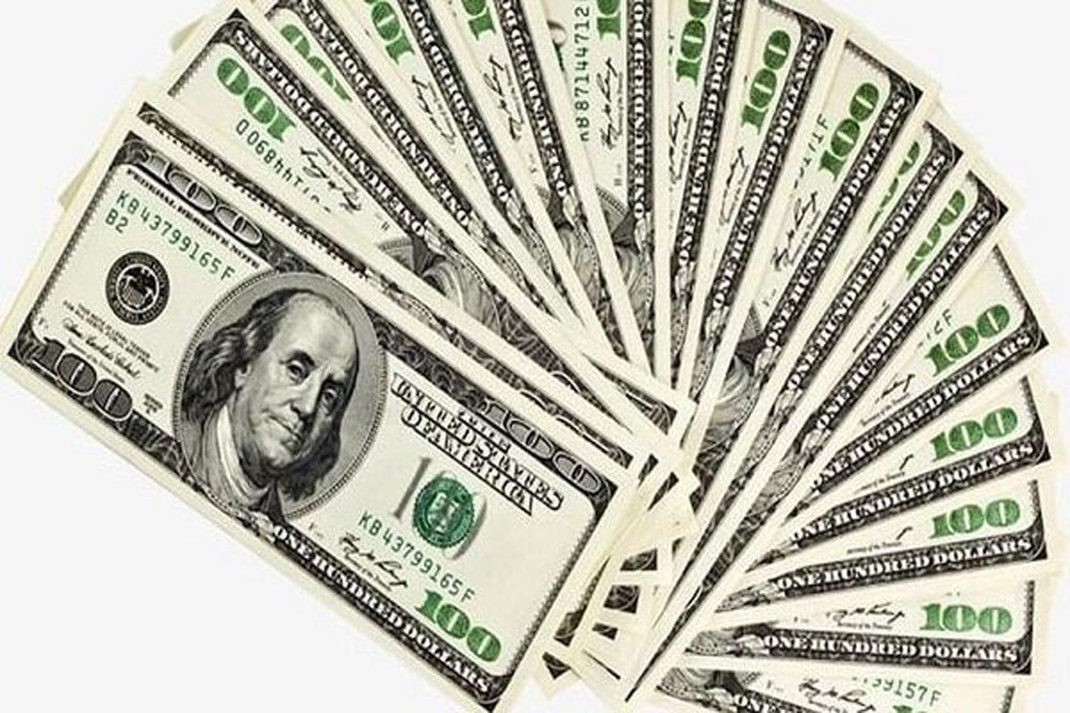 ارزش دلارپایین آمد