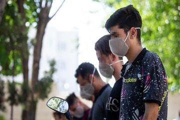 دستگیری و کشف سلاح سرداز اراذل و اوباش محله اتابک
