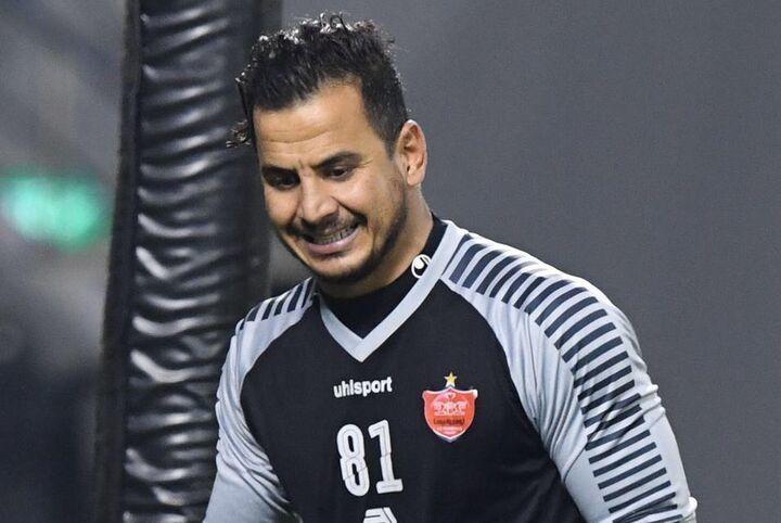 لیگ قهرمانان آسیا  |  دروازهبان پرسپولیس مورد تحسین قرار گرفت .