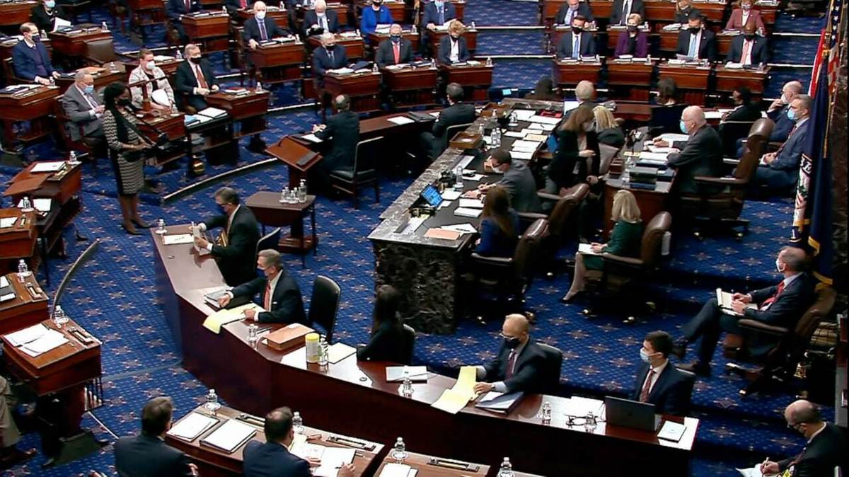 سنای آمریکا مقررات مربوط به جلسه استیضاح دونالد ترامپ را تصویب کرد