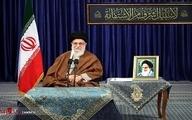 ارتباط تصویری رهبر معظم انقلاب اسلامی با هفت مجموعه تولیدی فعال در نقاط مختلف کشور  برقرار شد.