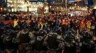 روسیه/ بازداشت ۱۴۰۰ معترض و حامی ناوالنی