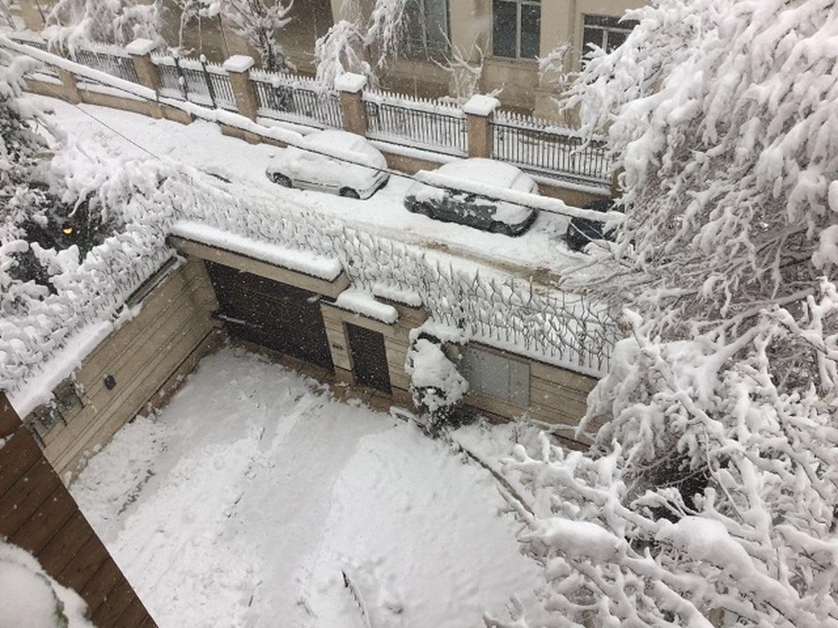 هشدار سازمان هواشناسی  |   بارش باران و برف در شمال کشور