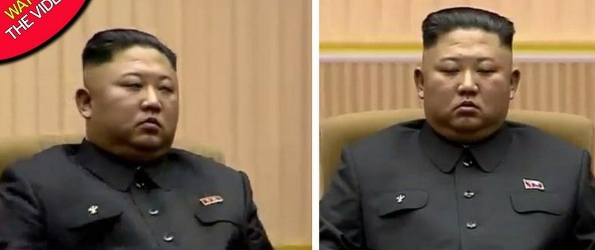 چرت زدن رهبر کره شمالی جنجالآفرین شد