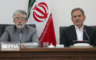 جهانگیری، حداد عادل و ستاری دور یک میز در شورای عالی «عتف»